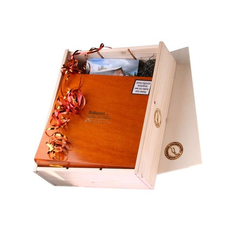 Mooie Houten Box.Losse Houten Cadeaukist