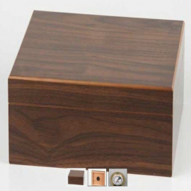 Humidor bookwill giftset Cherry Wood